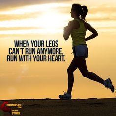 Feel your heart & keep moving! #jogging #fitness #moms http://www.corposflex.com/en/muscletech-platinum-100-pure-glutamine-300g