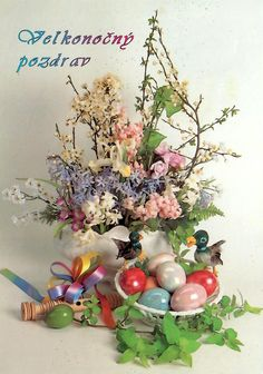 Happy Easter, Floral Wreath, Wreaths, Happy Easter Day, Floral Crown, Door Wreaths, Deco Mesh Wreaths, Floral Arrangements, Garlands