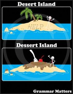 I don't mean to intrude on a joke...but shouldn't the guy on the dessert island be fat and dead right now?