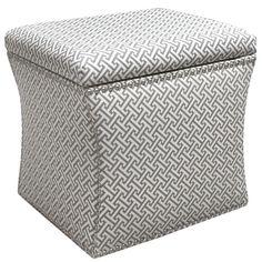 "Skyline Furniture Cross Section Nail Button Storage Ottoman & Reviews | Wayfair $219 Overall: 19"" H x 19"" W x 17"" D"
