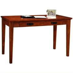 Bowery Hill Mission Laptop-Writing Desk, Brown