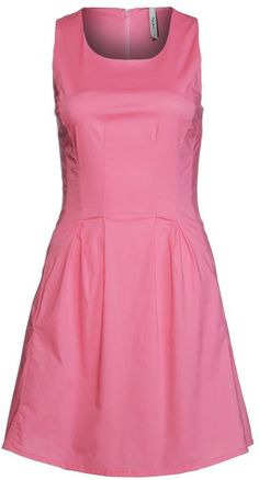 "Pin for Later: 15 Kleider, die geradezu schreien: ""Frühlingsanfang!""  Pepe Jeans ""Eliza"" Kleid in pink (80 €)"