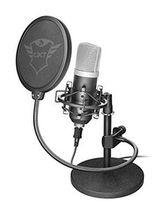 Buy Trust Emita USB Microphone at Argos. Thousands of products for same day delivery or fast store collection. Blue Yeti Microphone, Usb Microphone, Electronics Gadgets, Tech Gadgets, Youtube Microphone, Trust Games, Home Recording Studio Setup, Micro Studio, 100 Euro