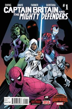 Captain Britain & the Mighty Defenders #1