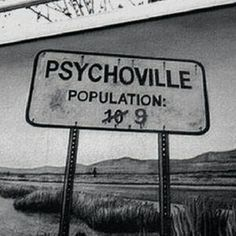 Psycho, psychoville, and black and white εικόνα