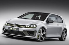 Studie: VW Golf R 400