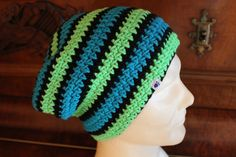 cooler Sloutch mit Neonfarben <3 Rid, Beanie, Facebook, Hats, Handmade, Shopping, Fashion, Neon Colors, Knitting And Crocheting