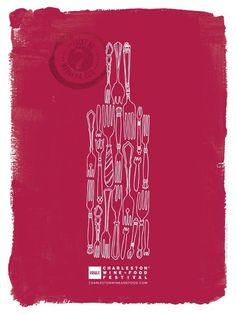 Great poster from Charleston Wine & Food Festival