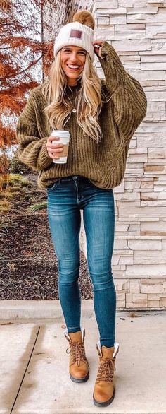 insane fall outfits to try now clothes Fall Outfits 2018, Fall College Outfits, Fall Outfits For Work, Casual Summer Outfits, Cute Outfits, Autumn Outfits, Cold Weather Fashion, Cold Weather Outfits, Stylish Street Style