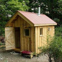 Classic Wood Burning Sauna  Design
