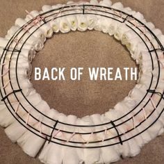 The Ultimate Diaper Wreath     A guide on how to make this adorable wreath!     Wanna Purchase an Authentic Ultimate Diaper Wreath?  Visit m...