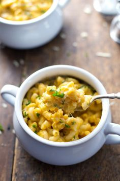 Healthy Butternut Squash Mac 'n' Cheese | 27 Delicious And Healthy Meals With No Meat