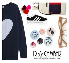 """""""#ChristmasLove"""" by juromi ❤ liked on Polyvore featuring Chinti and Parker, Tommy Hilfiger, adidas, Wildfox and Bing Bang"""
