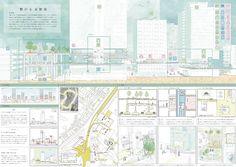School Design, Architecture Design, Competition, Presentation, Floor Plans, Layout, Concept, How To Plan, Architecture Panel