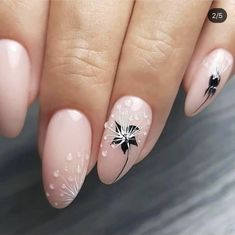 In search for some nail designs and ideas for your nails? Here's our list of 60 must-try coffin acrylic nails for trendy women. Lace Nails, Flower Nails, Pink Nails, Best Acrylic Nails, Almond Acrylic Nails, Creative Nail Designs, Creative Nails, Ongles Forts, Wedding Nail Polish