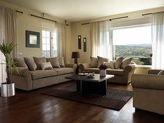 Como decorar una sala con muebles de color beige