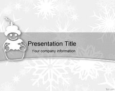 Grandmother gift powerpoint template ppt template happy birthday cold snowman powerpoint template is a free powerpoint template with snowman and great for winter presentations toneelgroepblik Image collections