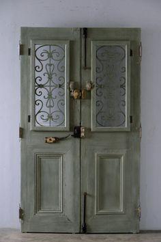 ■商談中■ antique double door / フレンチアンティーク ダブルドア 両開き玄関扉 - boncote | アンティークドアの直輸入 建具大量在庫