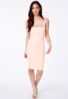 Sanga Scuba Midi Dress - Dresses - Midi Dresses - Missguided | Ireland