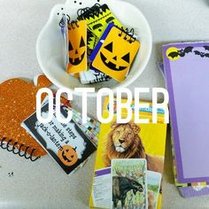 October Writing Ideas - A Year of FREE Daily 5 Work on Writing Resources