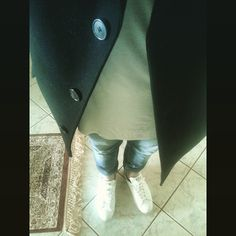 Stan smith, Benetton Coat, Nudies Jeans, i-clothing t-shirt, personal style