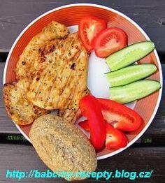 Kuřecí prsíčka v marinádě Bread, Food, Brot, Essen, Baking, Meals, Breads, Buns, Yemek