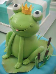 Frog cake, adorable