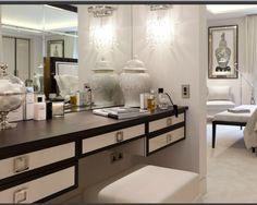 fitted dressing table luxury - Google Search
