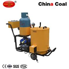 FGF-60 Asphalt Crack Sealing Machine Chinacoal07 Application: Mainly used for sealing concrete and asphalt road crack.  Features: 1. Famous brand generator, stable performance;  2. Liquefied gas heating, practical and easy to operate;  3. Large asphalt tank;  4. All the working process heating, avoid blocking.  Technical Parameters: Model	FGF-60 Generator Type	ET950 Walking Mode	Hand Push Material Tank Volume	60L Fuel Type	Liqufied Gas Heating Medium	Conduction Oil Net Weight	165kg Packing…