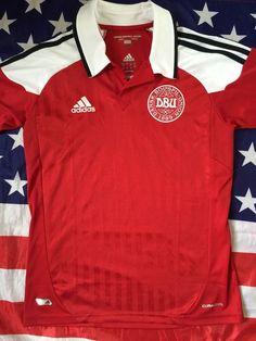 DENMARK 2012-2013 Home Football Shirt Size Boys 13-14 Years Small S Men s 8402bc383