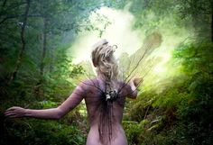 Queen of the fairies: Kirsty Mitchell's rainbow wonderlands – in pictures