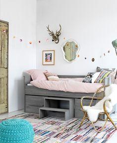 Robuuste kinderkamer meubels - Kidskamers
