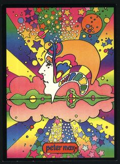 I guess I have to have at least one Peter Max...