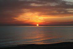 Sol Levante sul mare di Porto Sant'Elpidio