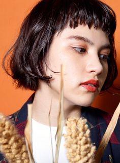 アンニュイウェービーショートボブ 【DECO】 http://beautynavi.woman.excite.co.jp/salon/25557?pint ≪ #bobhair #bobstyle #bobhairstyle #hairstyle・ボブ・ヘアスタイル・髪型・髪形 ≫