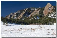 Chautauqua Park Boulder Colorado Winter View « Boulder County The Book