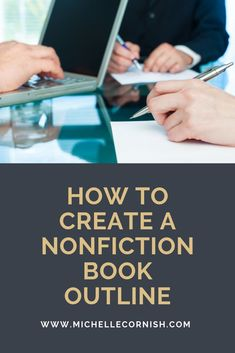 Create a nonfiction book outline in 4 easy steps. Using an outline can help you write faster! Writing A Book Outline, Outlining A Novel, Book Writing Tips, Writing Quotes, Essay Writing, Introductory Paragraph, Fiction And Nonfiction, Fiction Writing, Victoria