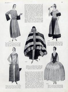 Paul Poiret (Couture) 1921 Evening Gown