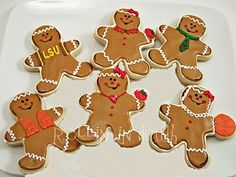 personalized gingerbread men