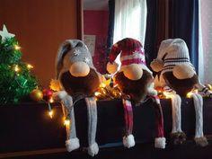 Sock Crafts, Hobbit, Scandinavian, Christmas Crafts, Youtube, Gnomes, Fabric Dolls, Xmas, Christmas