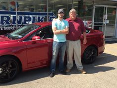 Matt Whiteside with his Sales Associate, Johnny Dickens. Thanks Again, Matt, for allowing us the opportunity to assist you with your automotive needs