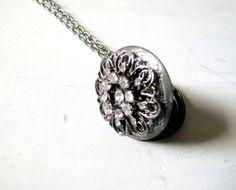 Hey, I found this really awesome Etsy listing at http://www.etsy.com/listing/164901624/silver-locket-rhinestone-locket-silver