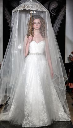 Reem Acra Spring 2014 Wedding Dresses - from #InStyle