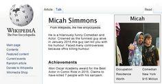 My Wikipedia Page ?