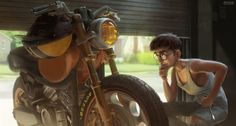 Last Fixing by Etienne Hebinger | Illustration | 2D | CGSociety