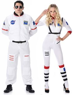 88735043e Disfarce de casal astronauta adulto: Disfarce astronauta mulher Este  disfarce para mulher é composto de
