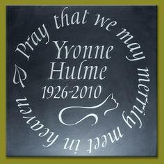 Welsh slate plaque