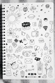 Doodles Grunge Tumblr Doodles And Sketch Notes Drawings