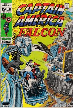 Captain America 141 September 1971 Issue  Marvel by ViewObscura