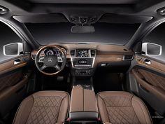 Mercedes-Benz M-Class interior